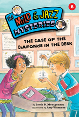 The Case of the Diamonds in the Desk cover